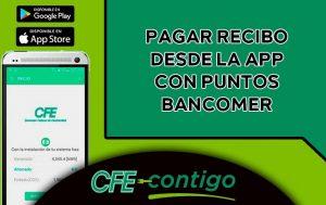 pagar recibo desde la app con puntos bancomer
